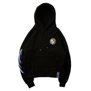 Ceremony Tape Wide hoodie_BLACK