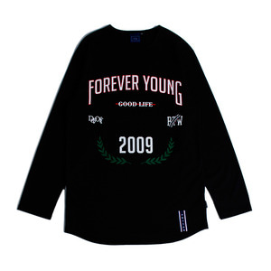 Forever Young Long Sleeve_Black