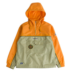Piping Anorak_Mustard