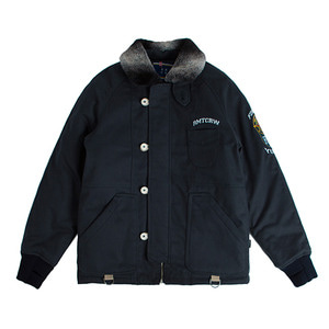 Forever Young 6oz Deck Jacket_Navy