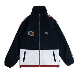 Flag Cotton Track Jacket_Navy