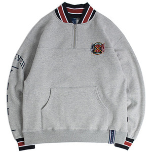 FY Half Zip Up Sweatshirt_Gray