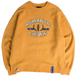 RMTC Sweat Shirt_Mustard