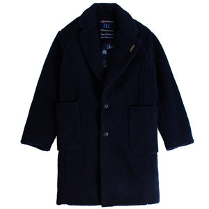 Padded Fleece Single Coat_Navy