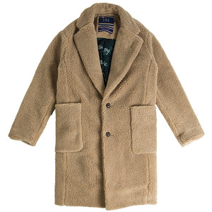 Padded Fleece Single Coat_Beige