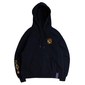 MY DAY Lettering Hoodie_Navy