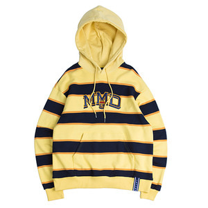 MMD Striped Hoodie_Butter