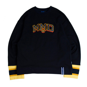 MMD Knit Crew Neck_Navy