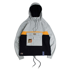 MMD Pullover Anorak_Grey