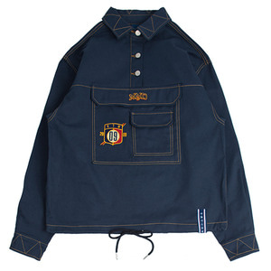 MMD Cotton Anorak_Navy