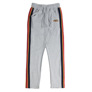Band Line Sweat Pants_Grey