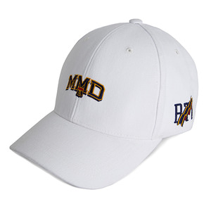 MMD Ball Cap_White