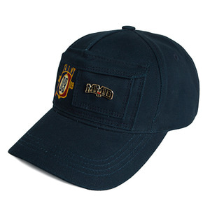 Double Pocket Ball Cap_Navy