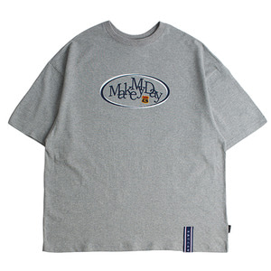Circle Logo T Shirts_Grey