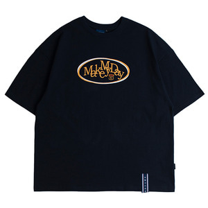 Circle Logo T Shirts_Navy