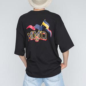 MMD Flag T Shirts_Black