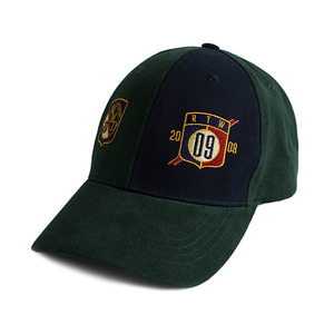 Color Block Ball Cap_Green