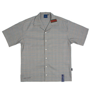 Glen Check Half Shirt