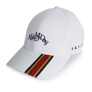 MMD Strap Ball Cap_White