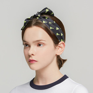 Shuttlecock Hairband_Black