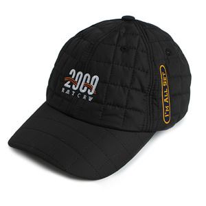 2009 Quilting Ball Cap_Black