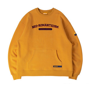 [헤드 바이 로맨틱크라운]Neo romanticism Sweatshirt_Yellow