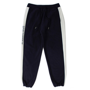 [헤드 바이 로맨틱크라운]Side Logo Fleece Track Pants_Navy
