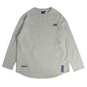 2009 Flag Long Sleeve_Grey