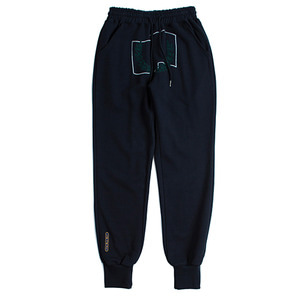 Laurel Crown Jogger Pants_Navy