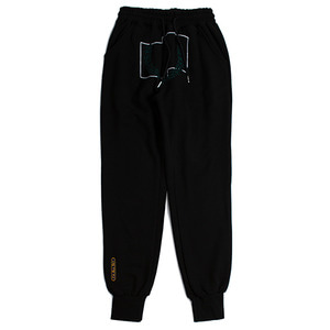 Laurel Crown Jogger Pants_Black