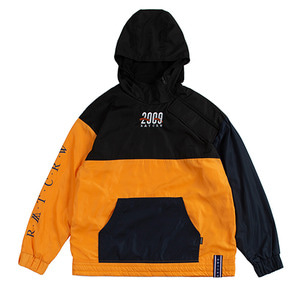 2009 Side Zip Up Anorak_Yellow