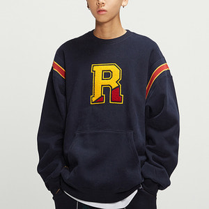 Big Logo Sweatshirt_Navy