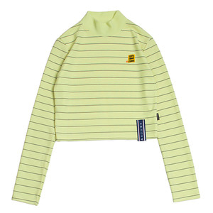 Stripe Knit Turtleneck_Butter