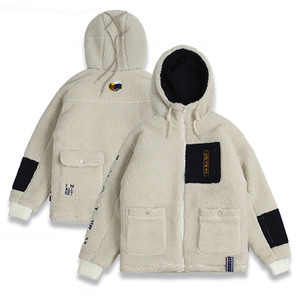 Heavy Fleece Jumper_Oatmeal