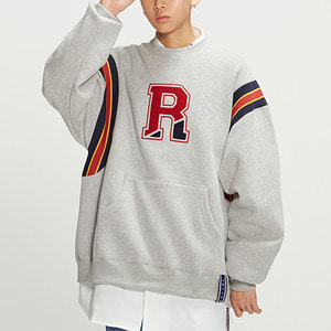 Big Logo Sweatshirt_Grey