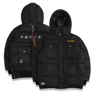 ALL SET Goose Down Parka_Black