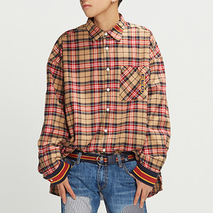 RMTCRW Check Shirt_Beige