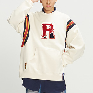 Big Logo Sweatshirt_Oatmeal