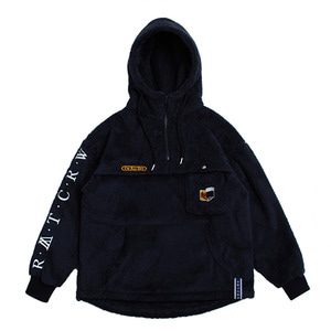 Pocket Fur Anorak_Navy