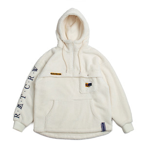 Pocket Fur Anorak_Oatmeal