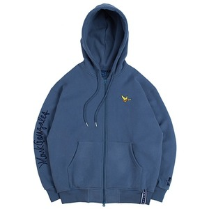 [R.C X M.G]Flag GONZ Hood Zip Up_Blue