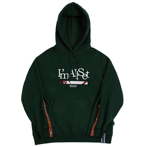 ALL SET Cuffs Hoodie_Green