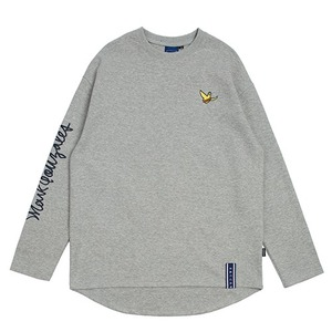 [R.C X M.G]Flag GONZ Long Sleeve_Grey
