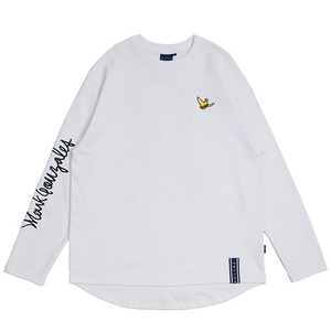 [R.C X M.G]Flag GONZ Long Sleeve_White