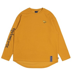 [R.C X M.G]Flag GONZ Long Sleeve_Yellow