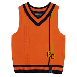 RC Double Line Vest_Orange