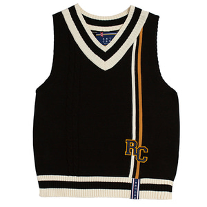 RC Double Line Vest_Black