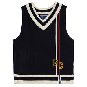 RC Double Line Vest_Navy