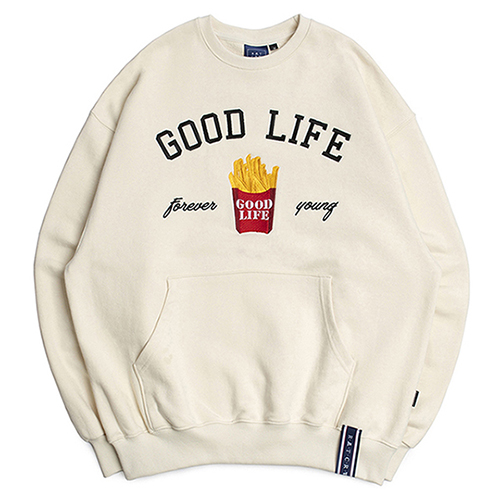 10th Good Life Sweat Shirt_Oatmeal
