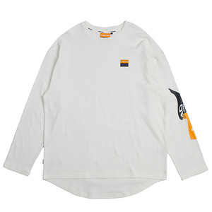 [10/23 예약발송]HEAD BY RMTC Flag Long Sleeve_White